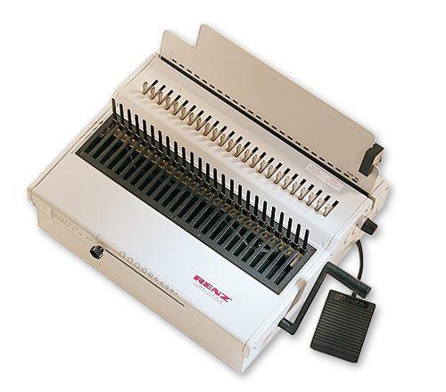 renz-combi-comfort-plastic-comb-binding-machine-image-1