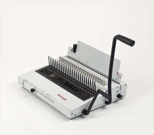renz-combi-s-plastic-comb-binding-machine-image-1
